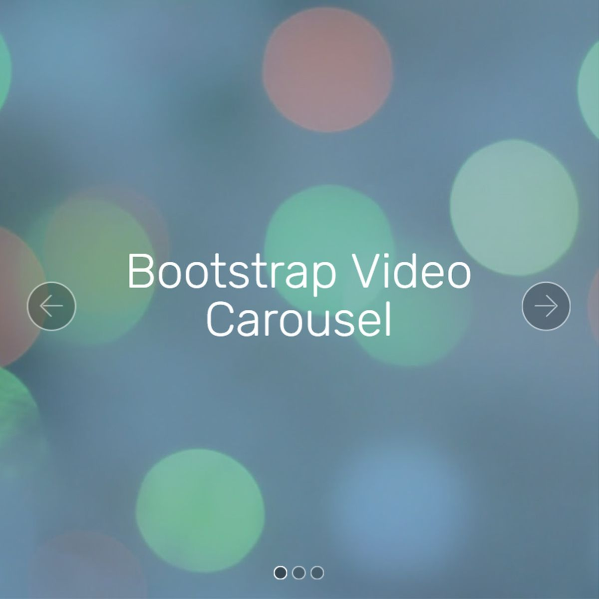CSS Bootstrap Picture Slideshow